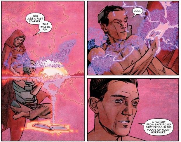 Cynthia Von Doom Trains Victor Von Doom In Mystic Arts