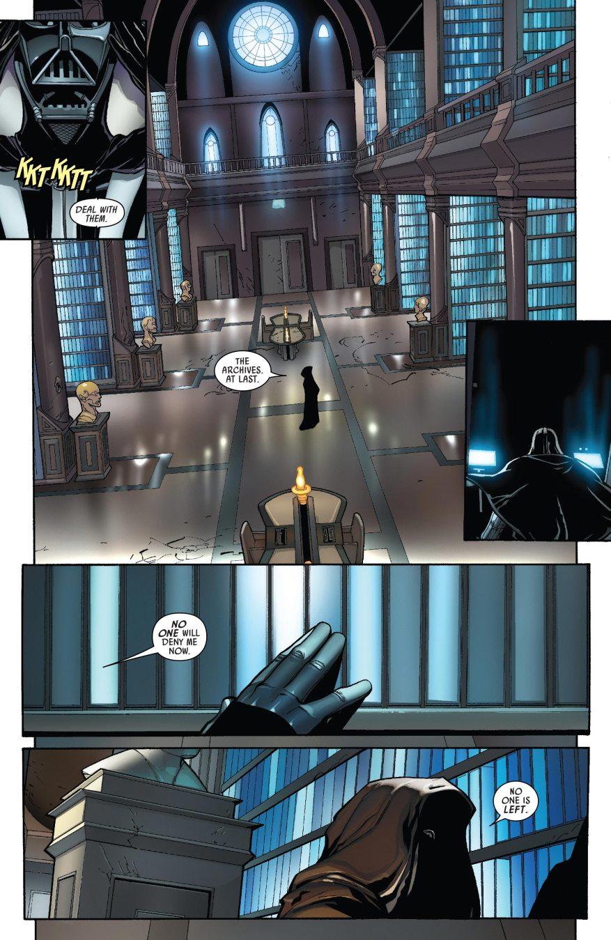 Darth Vader VS The Grand Inquisitor
