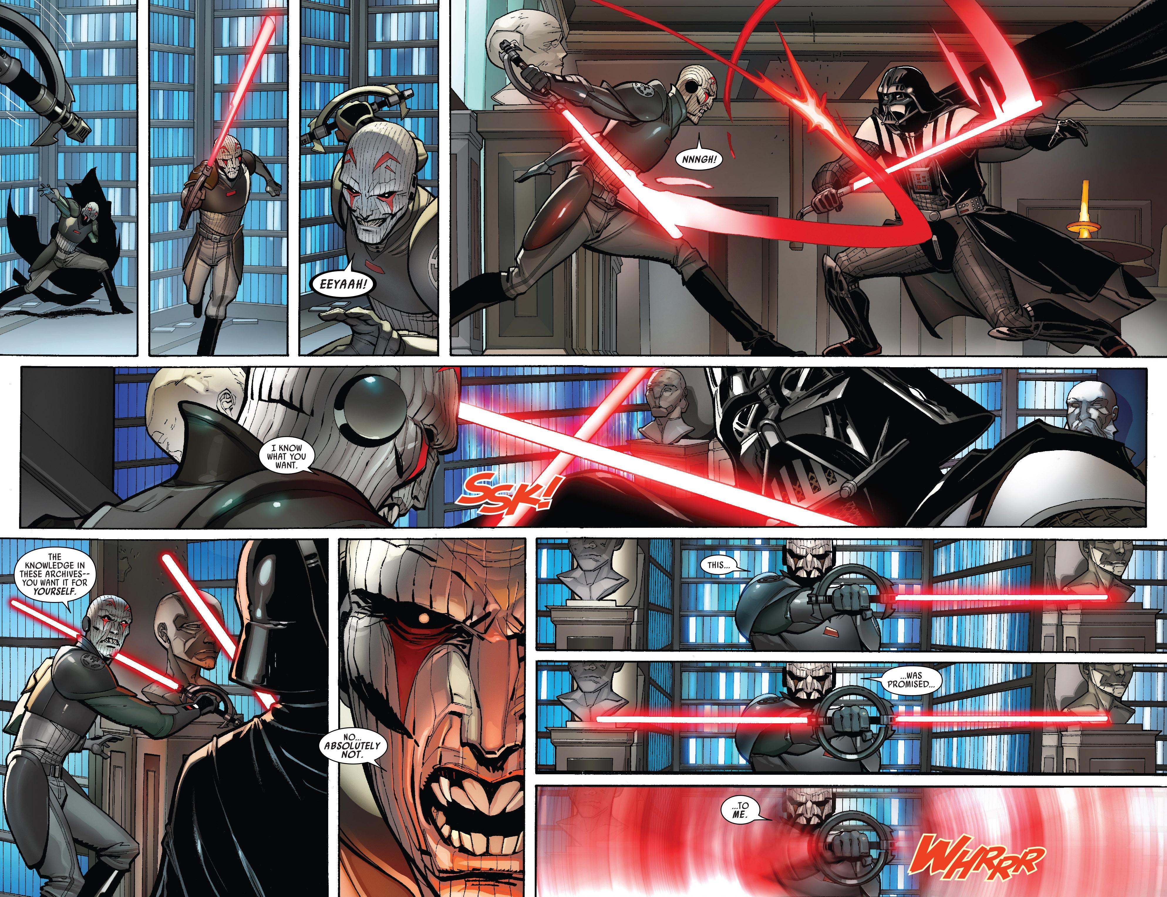Darth Vader Canon Vs Ares Dceu: Darth Vader VS The Grand Inquisitor