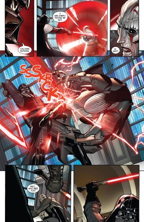 Darth Vader VS The Grand Inquisitor