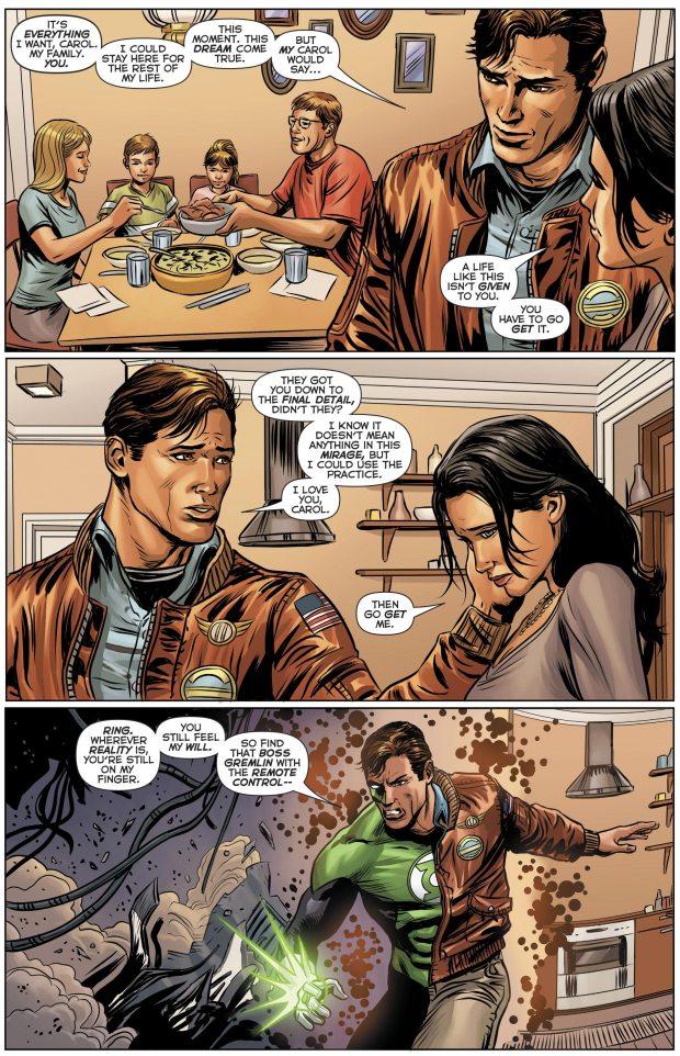 Green Lantern And Superman VS Kroloteans