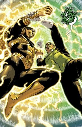 Green Lantern Hal Jordan VS Parallax-Superman