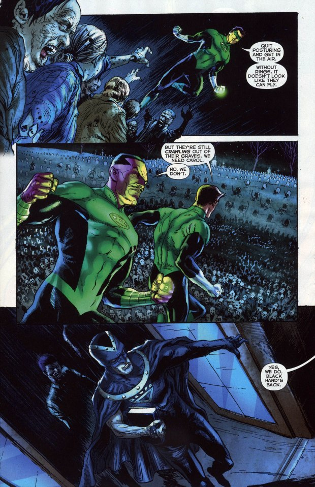 Hal Jordan And ...
