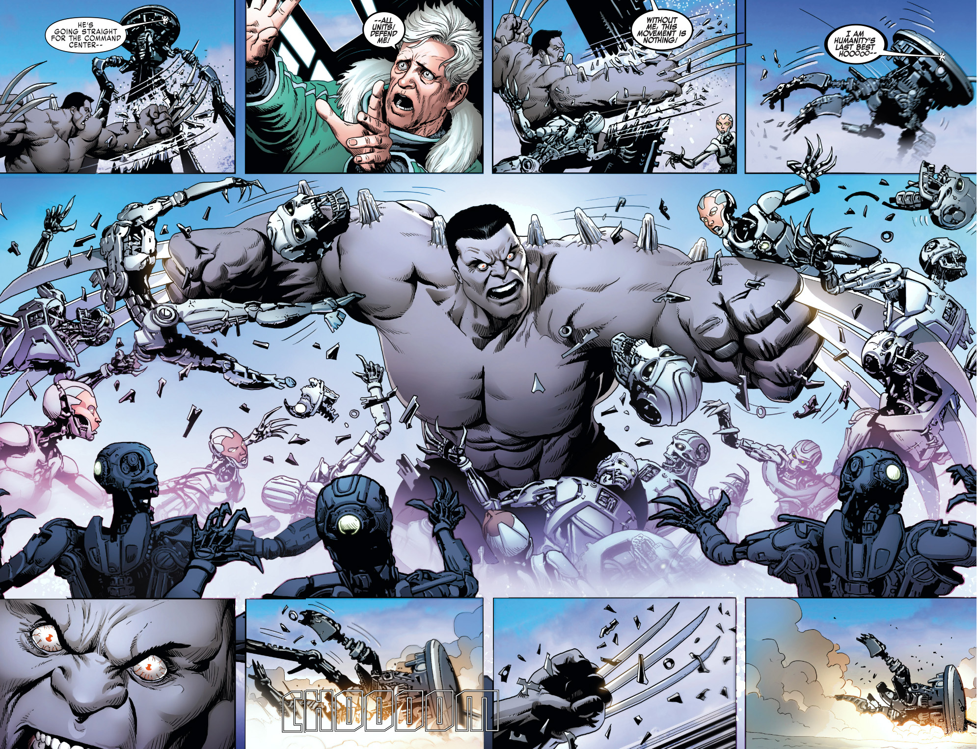William Stryker vs