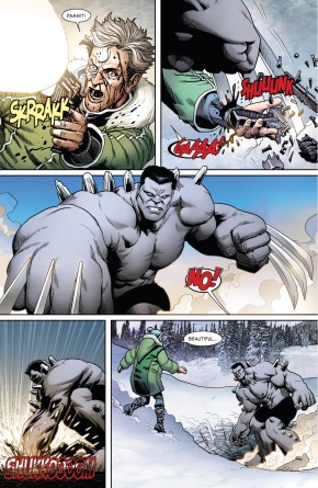 Hulkverine Destroys Reverend Stryker