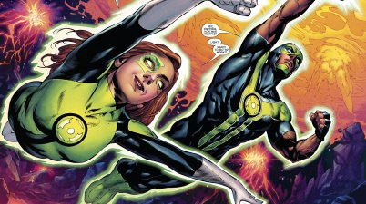 Jessica Cruz And Simon Baz (Green Lanterns Vol. 1 #33)