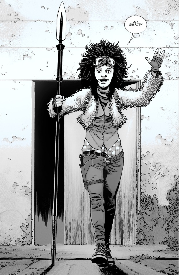 Juanita Sanchez's Weapon Of Choice (The Walking Dead)
