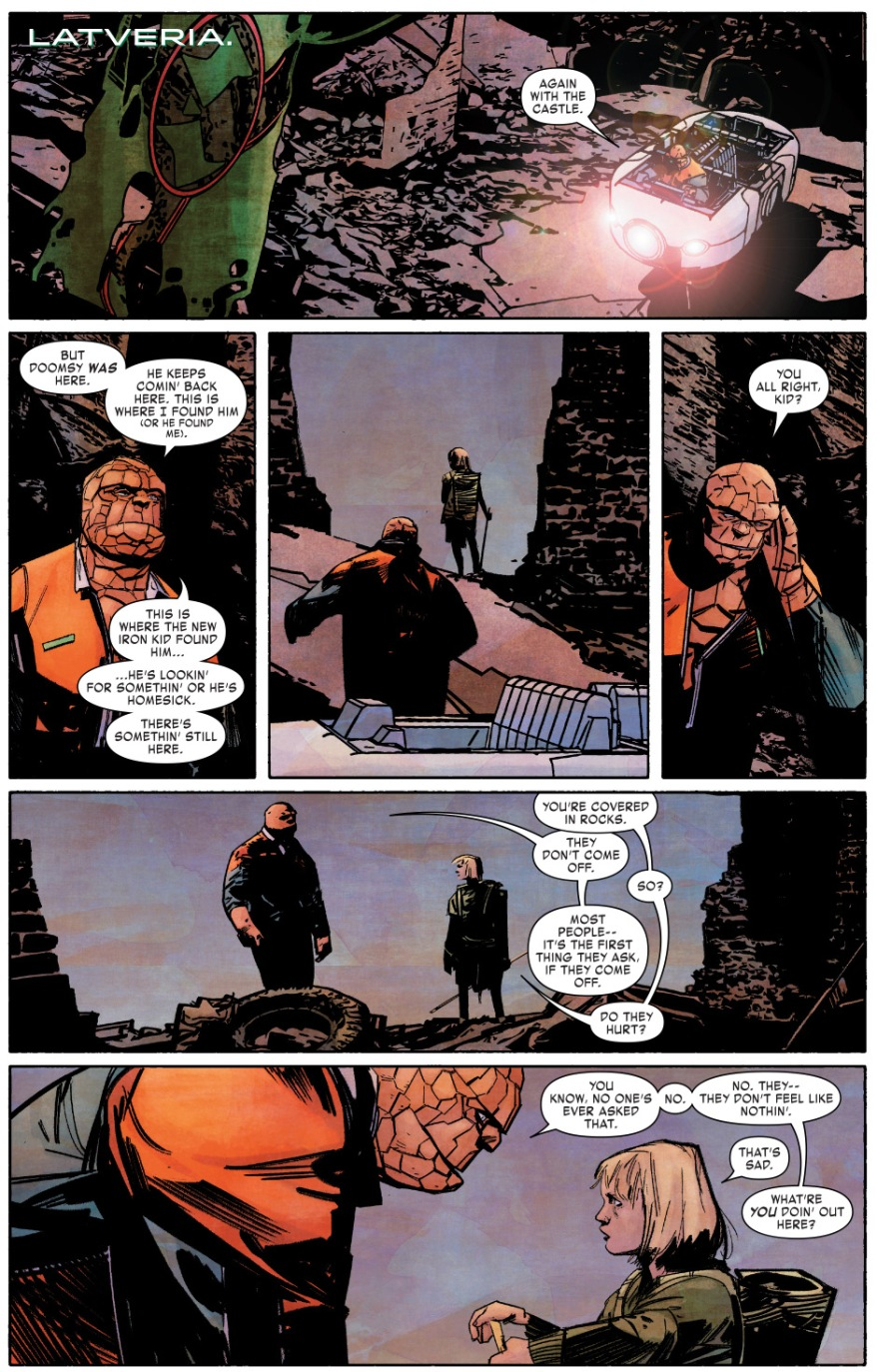 Latveria Loves Doctor Doom (Infamous Iron Man)