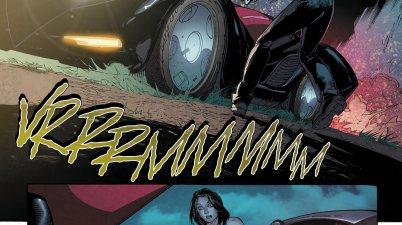 Lois Lane Drives The Batmobile (Rebirth)