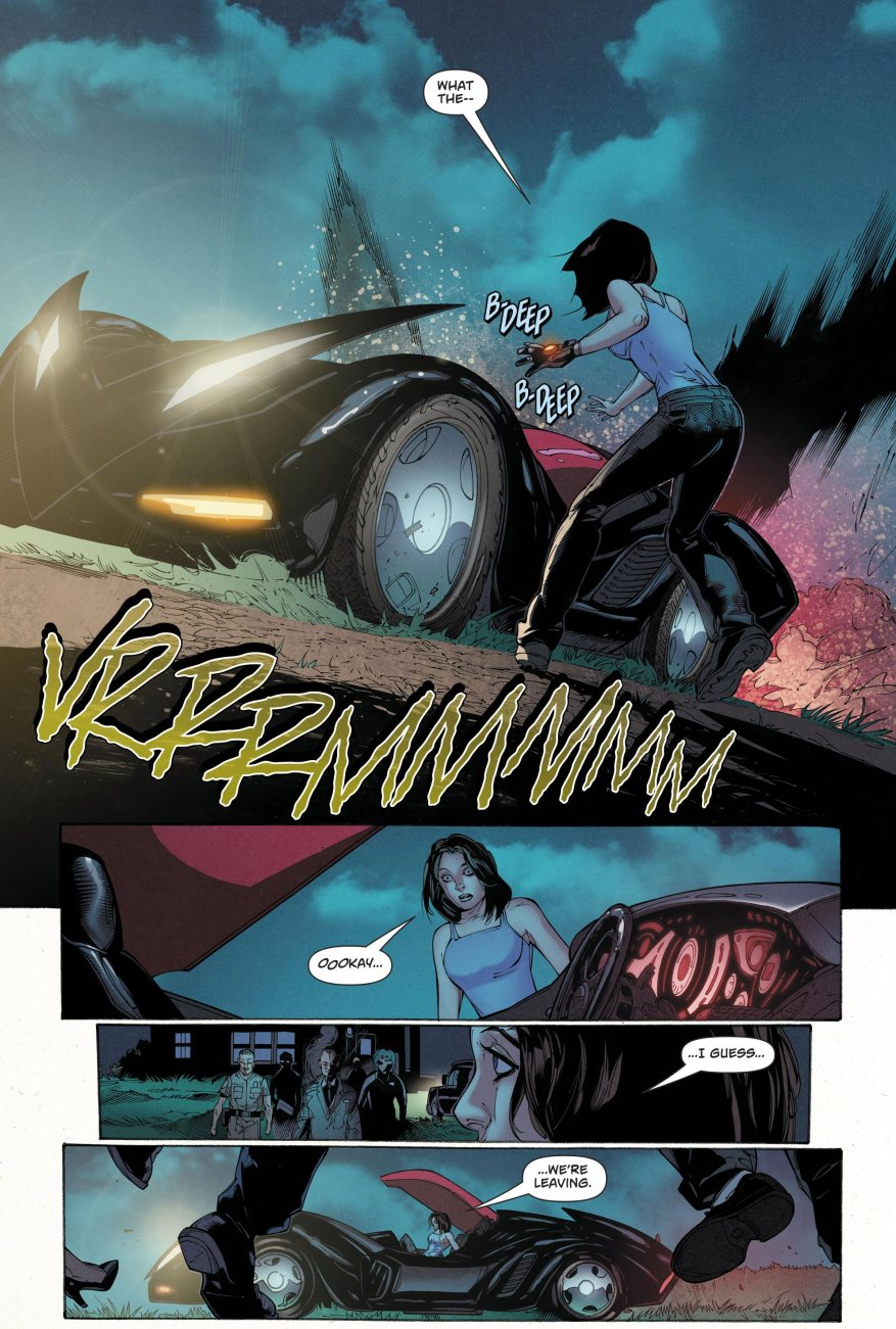 Lois Lane Drives The Batmobile (Rebirth)