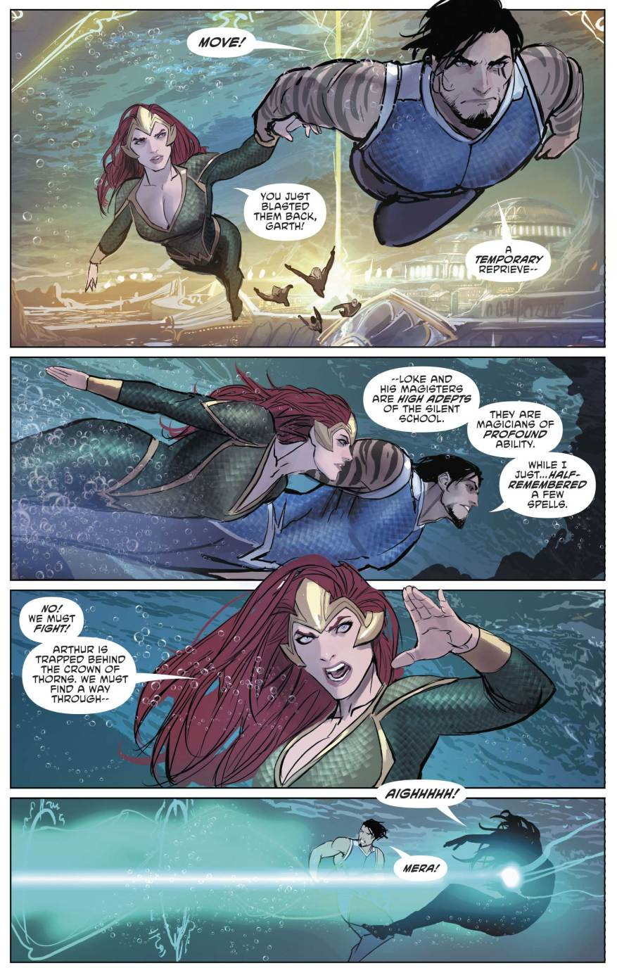 Mera And Tempest VS The Silent School