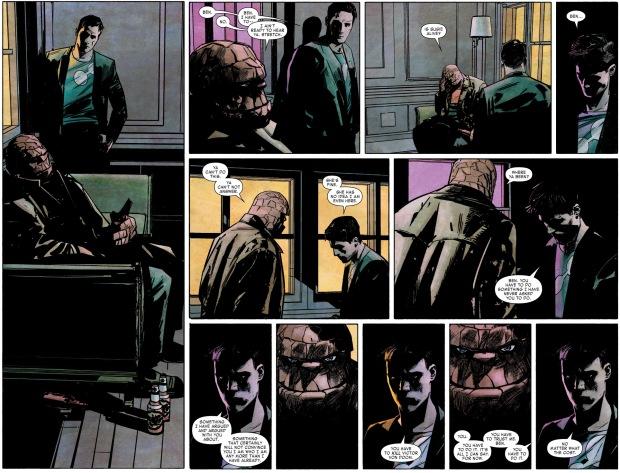 Mister Fantastic Wants Victor Von Doom Dead