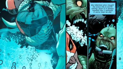 Nightwing Describes Raptor's Fighting Style