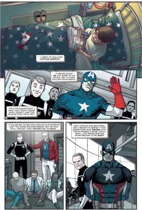 Phil Coulson Idolizes Captain America