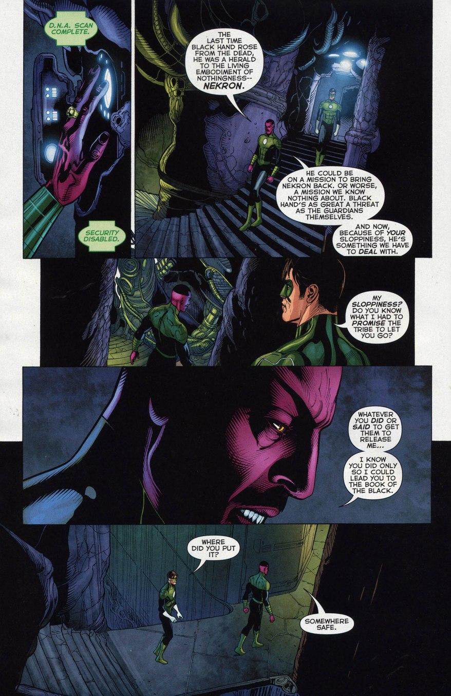 Sinestro Has His Own Batcave