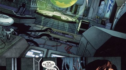 Sinestro Has His Own Batcave