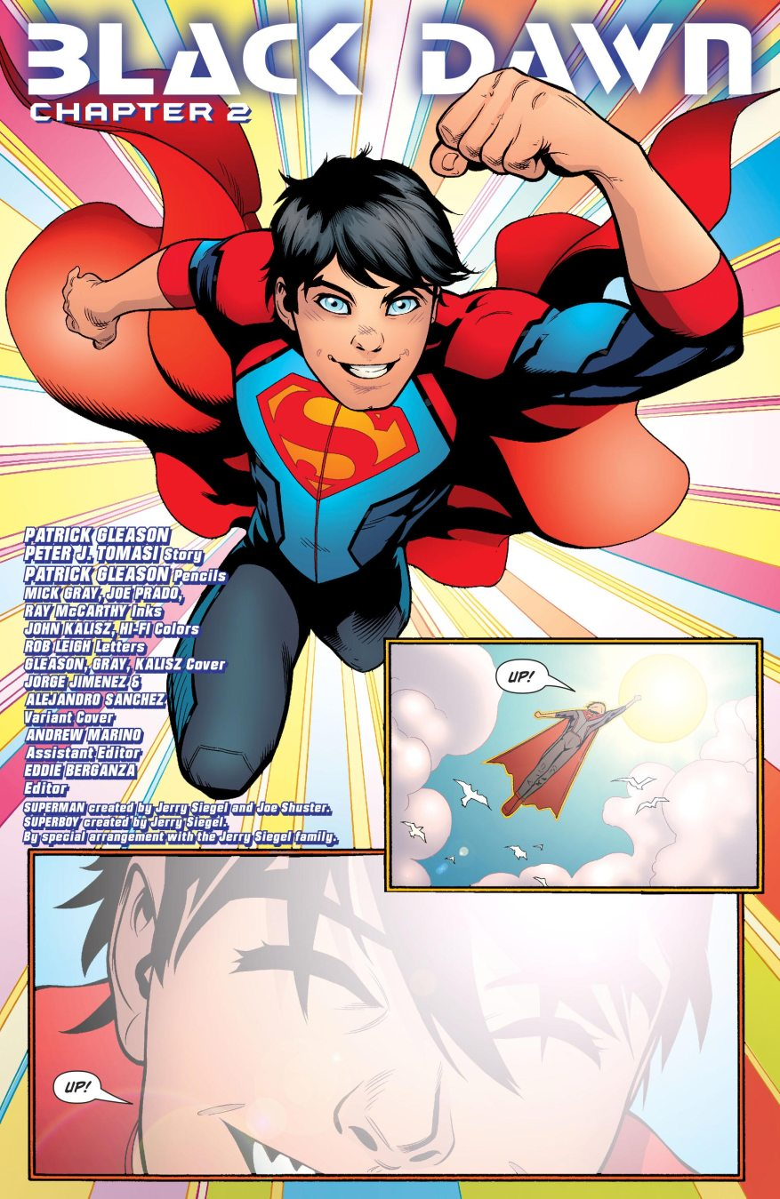 Superboy (Superman Vol 4#21)