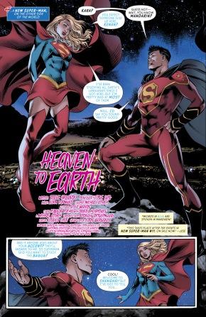 Supergirl Meets New Super-Man