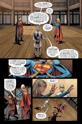 Supergirl Trains Under Master I-Ching
