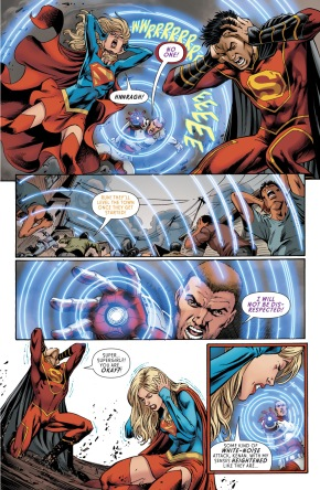 Supergirl VS Rocket Red (Rebirth)