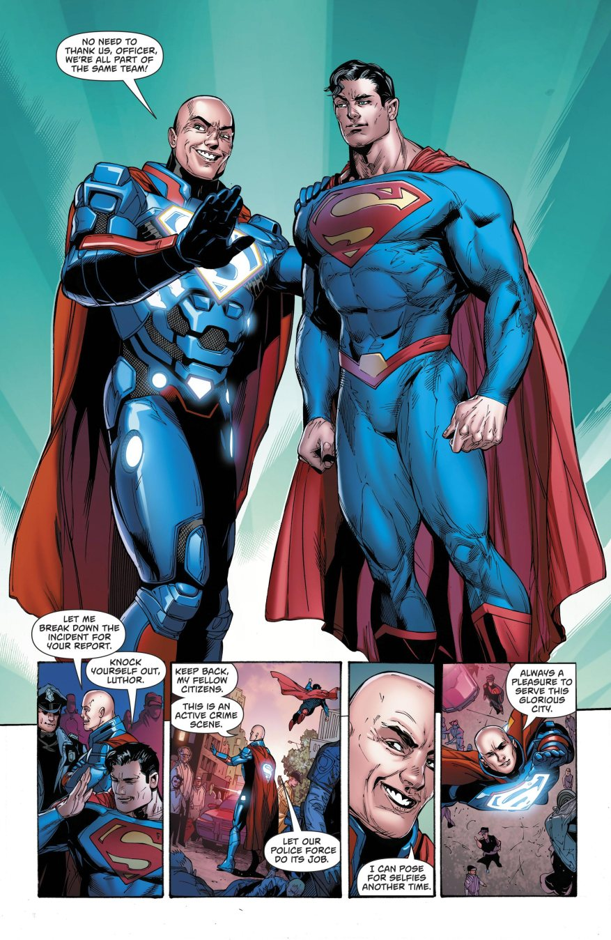 Superman And Lex Luthor (Superman Vol. 4 #33)