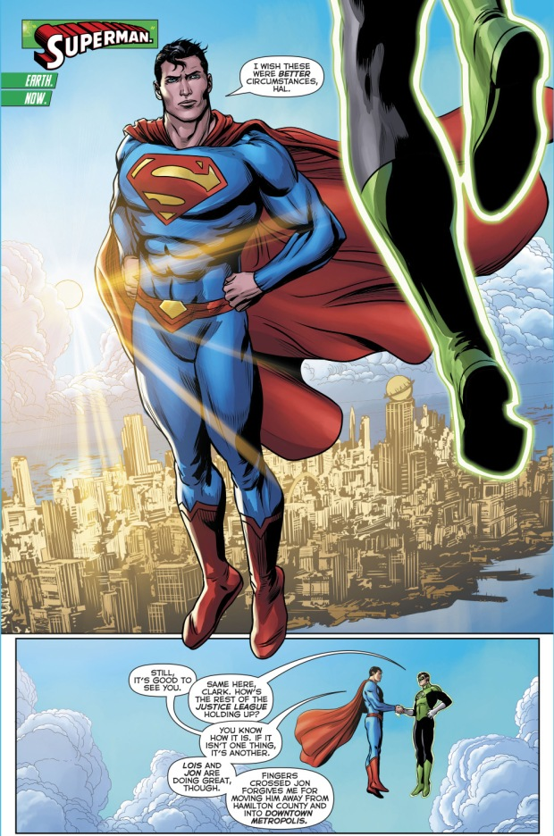 Superman (Hal Jordan And The Green Lantern Corps #30)