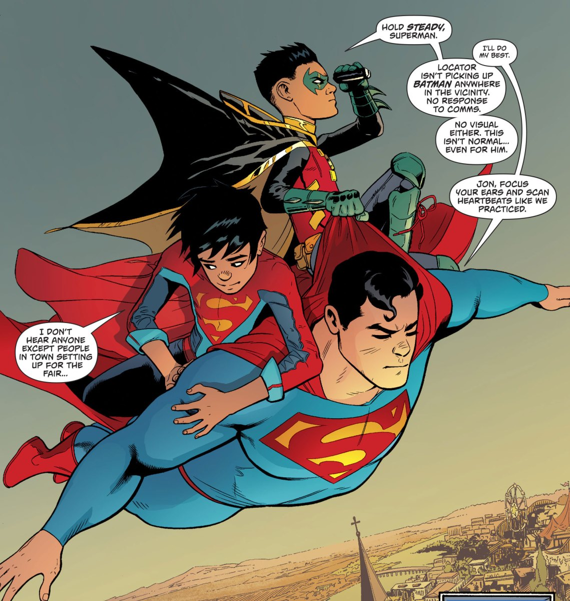 Superman, Superboy And Robin (Superman Vol. 4 #21)