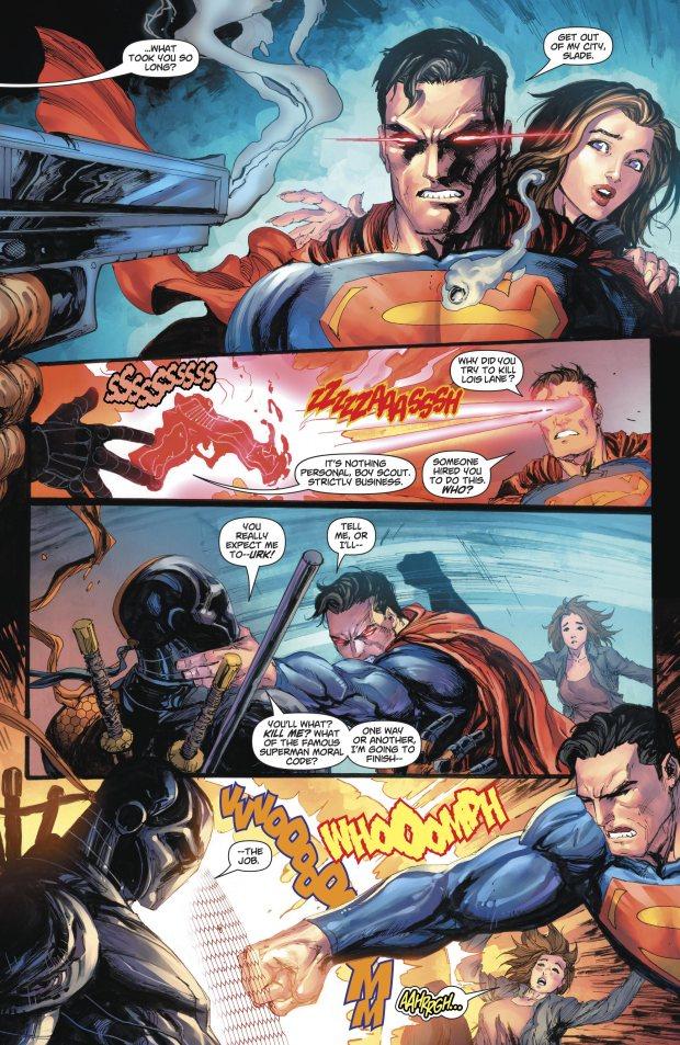Superman VS Deathstroke (Rebirth)
