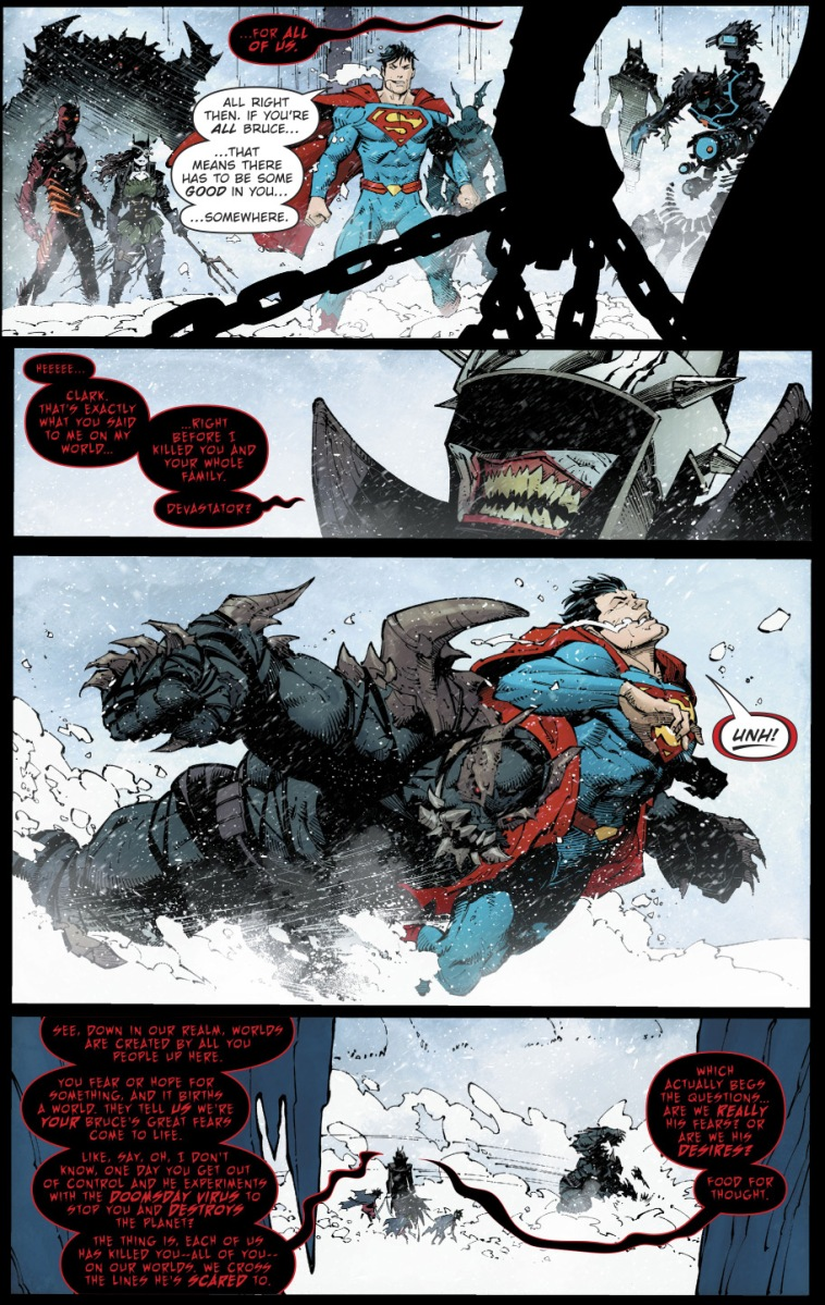 Superman VS The Devastator
