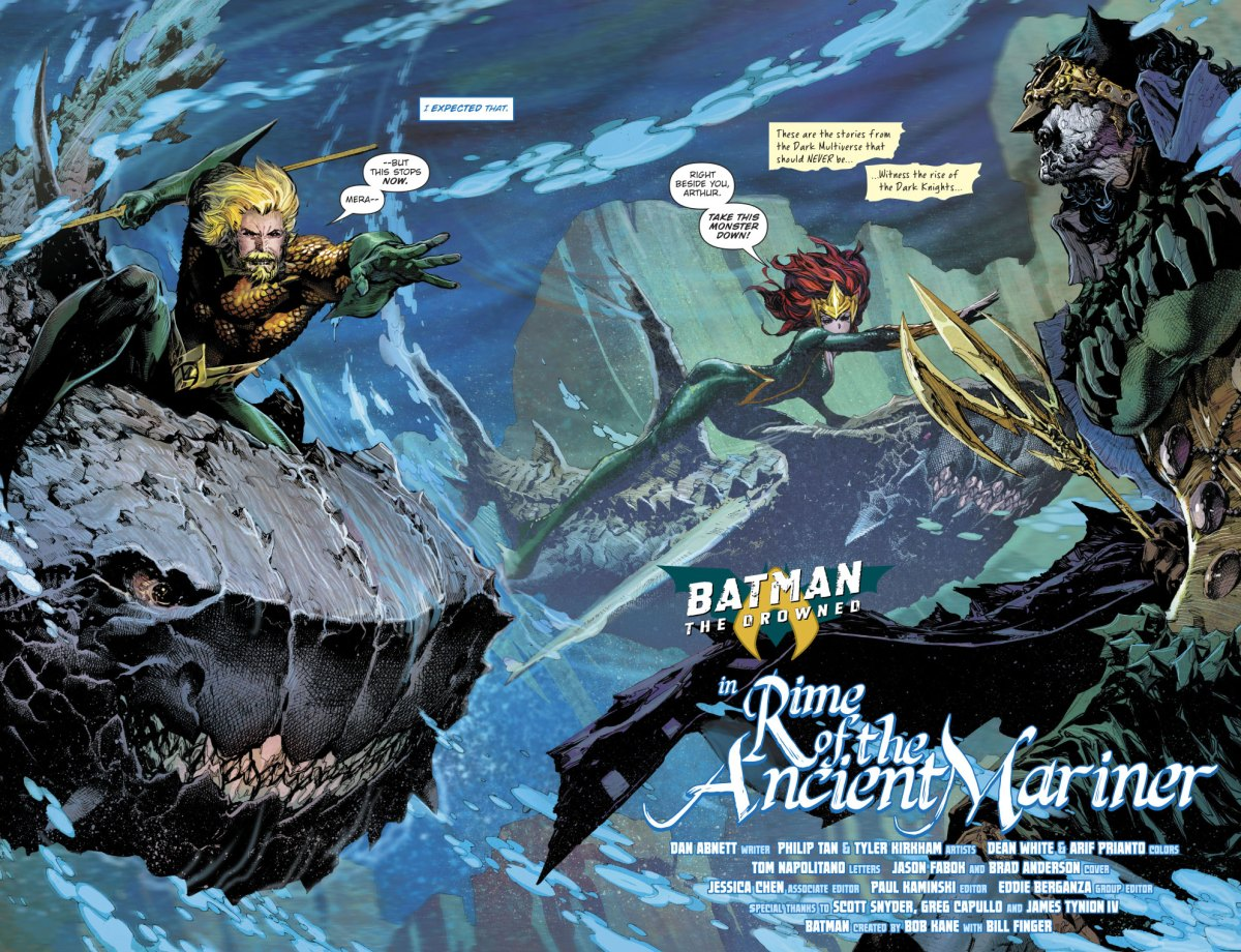 The Drowned VS Aquaman And Mera