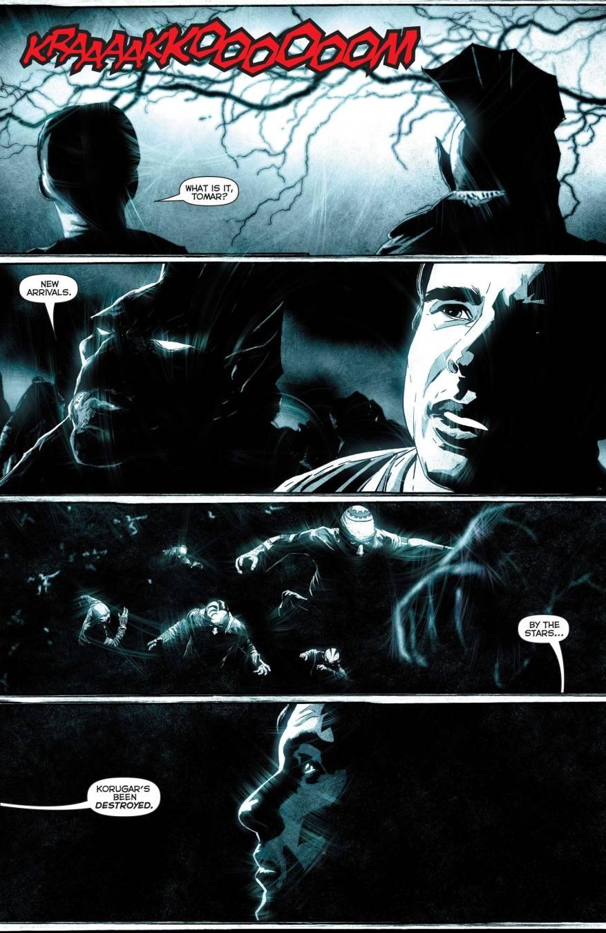 The First Lantern Destroys Korugar