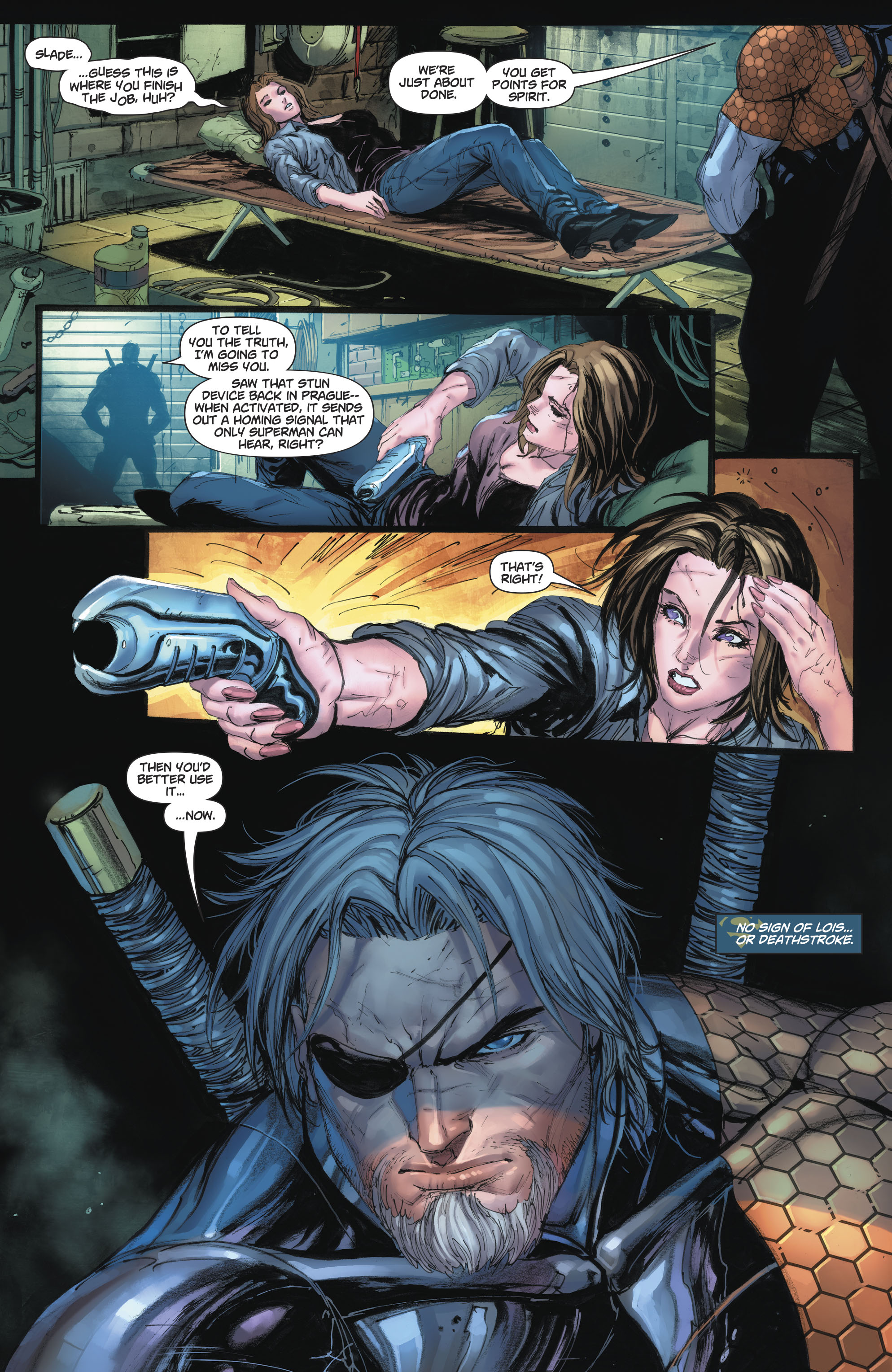 Why Deathstroke Wants Superman To Kill Him   Comicnewbies