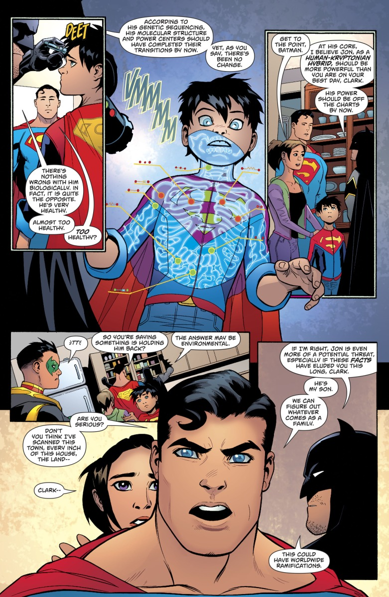 Why Superboy Can Be Stronger Than Superman Rebirth
