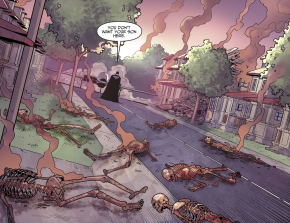 Amazo Massacres An Entire Town (Injustice II)