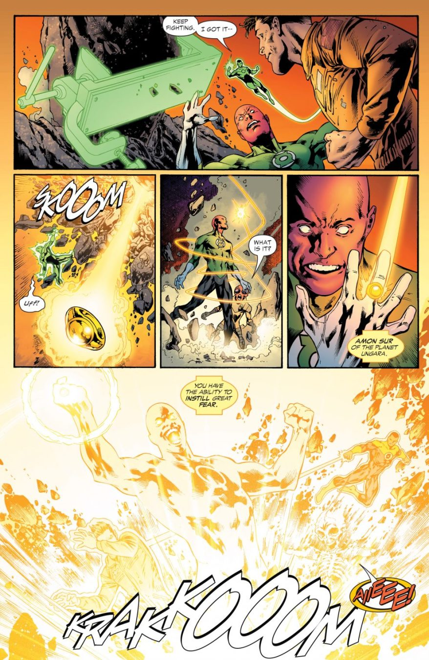 Amon Sur Is Chosen By The Sinestro Corps