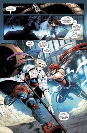 Artemis VS Harley Quinn (Rebirth)