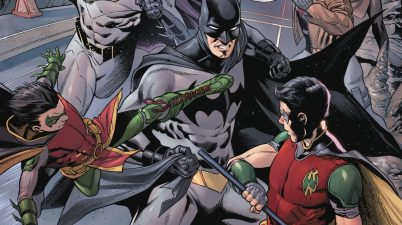 Batman And The Robins VS Batman (Tim Drake)