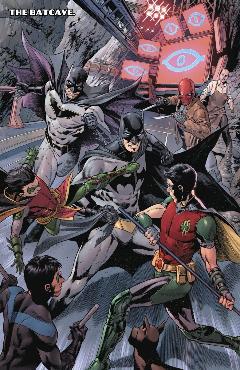 Batman And The Robins Vs Batman Tim Drake Comicnewbies