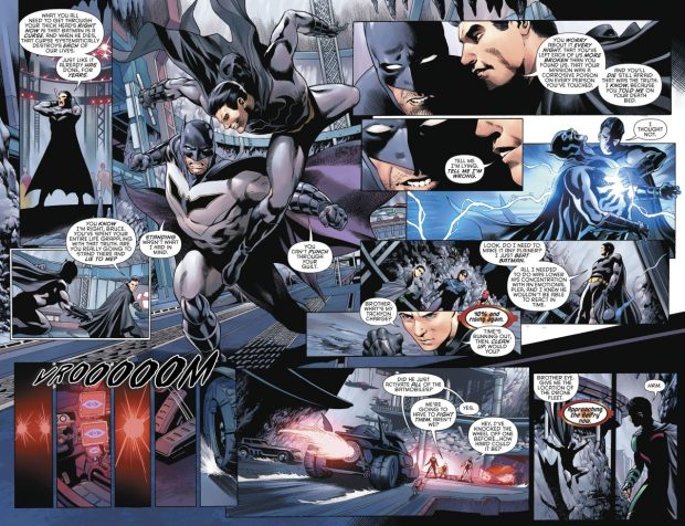 Batman And The Robins VS Batman (Tim Drake)