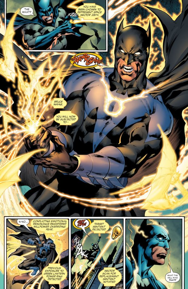 Batman Is Chosen By The Sinestro Corps