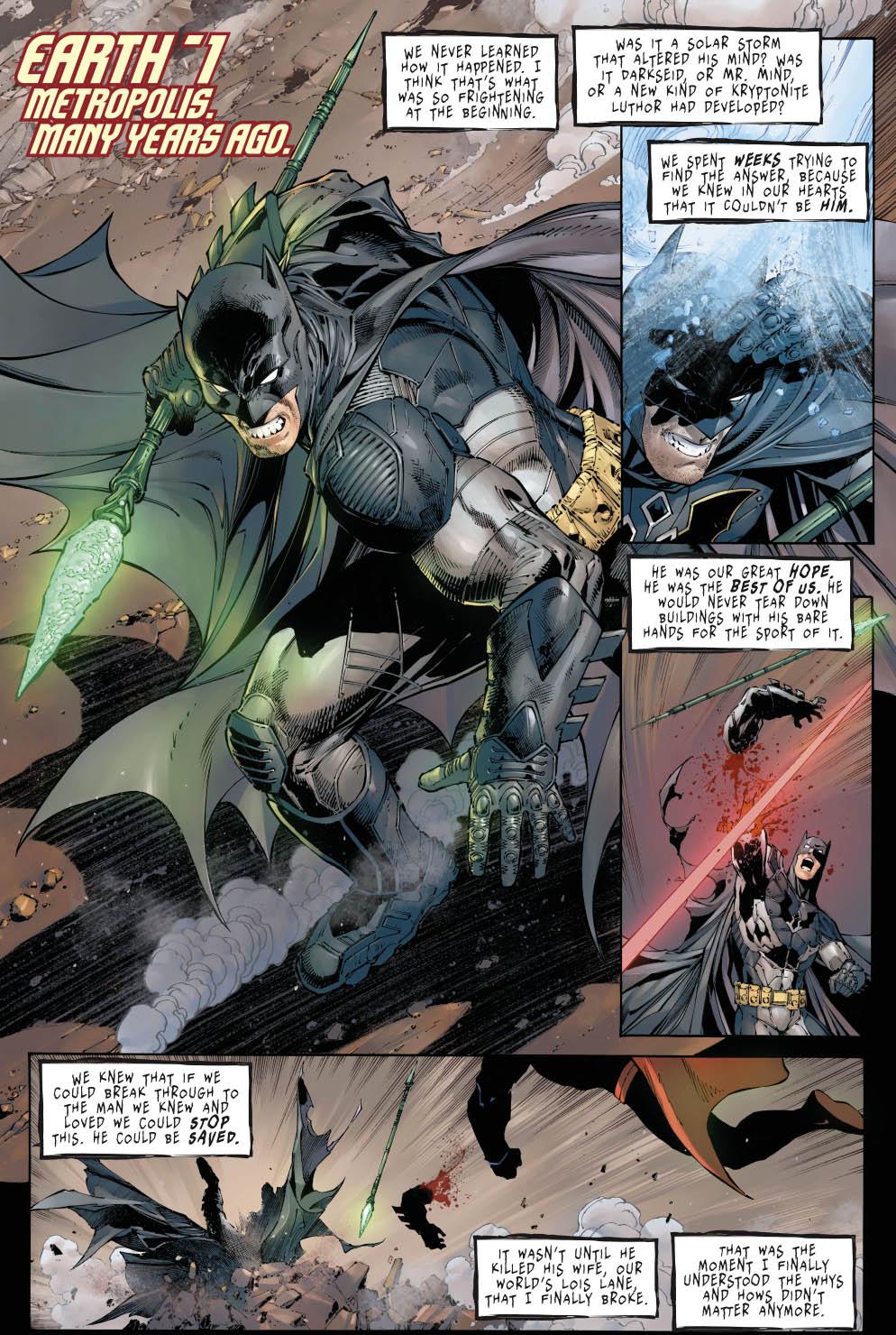 Batman Vs Superman Earth 1 Comicnewbies