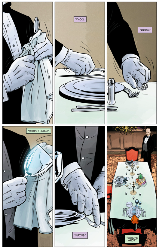 Bruce Wayne's Dinner With The Joker And The Riddler