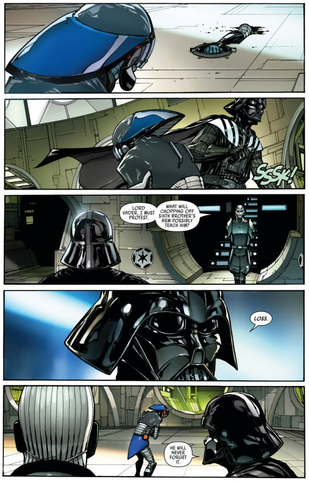 Darth Vader Trains The Inquisitorius