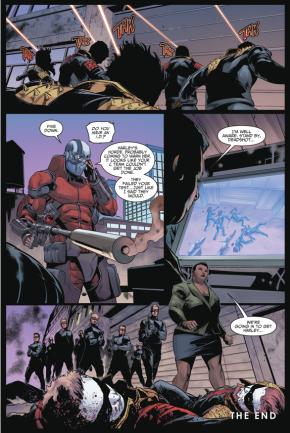 Deadshot Kills The Harley Horde