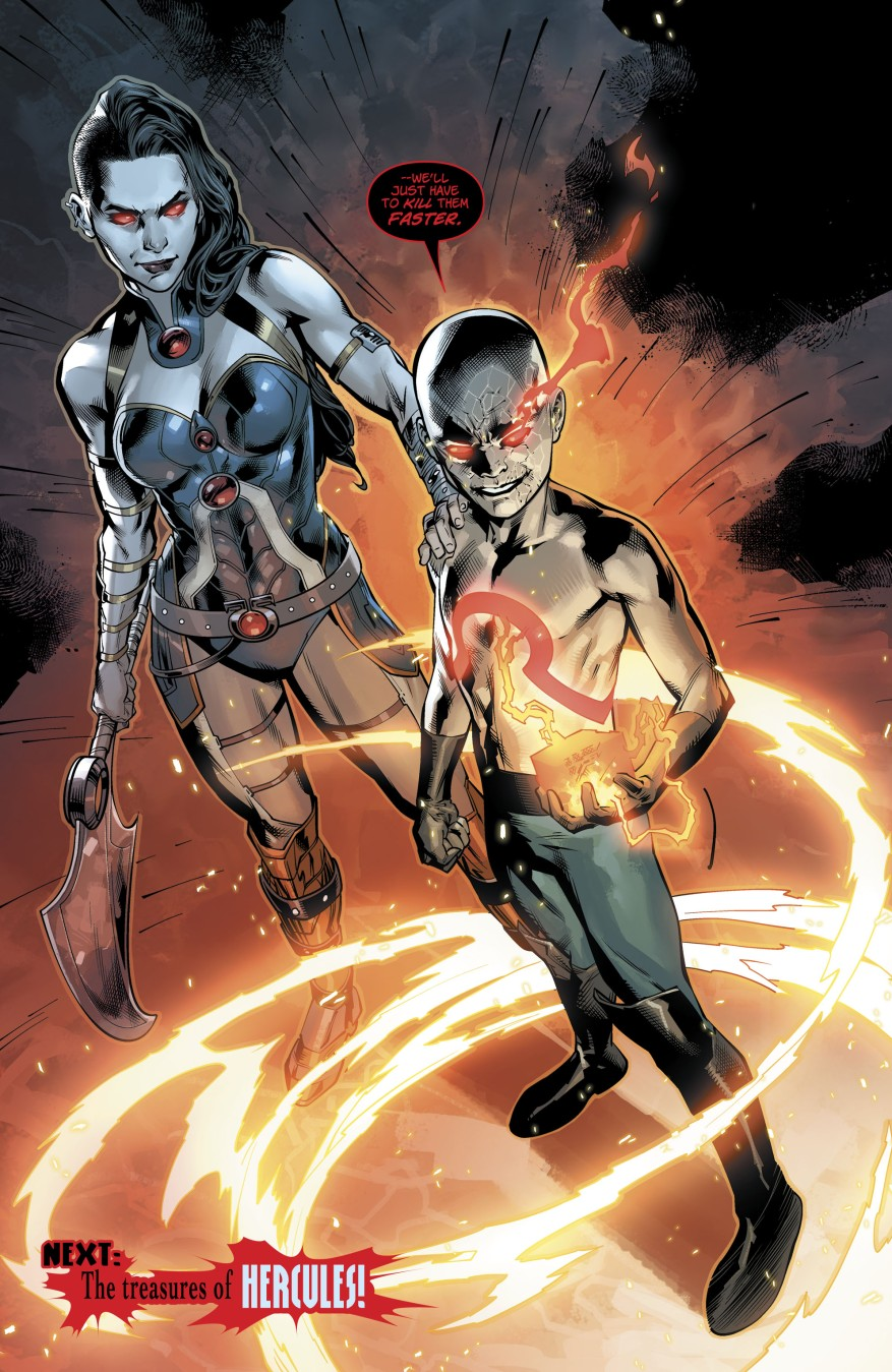 Grail And Kid Darkseid (Wonder Woman Vol 5 #31)