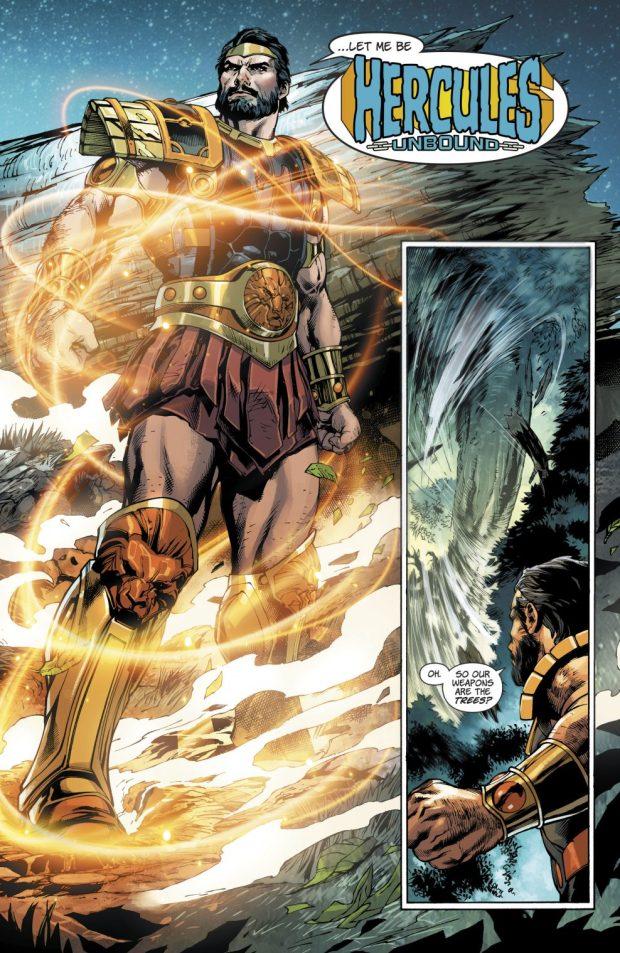 Grail VS Hercules