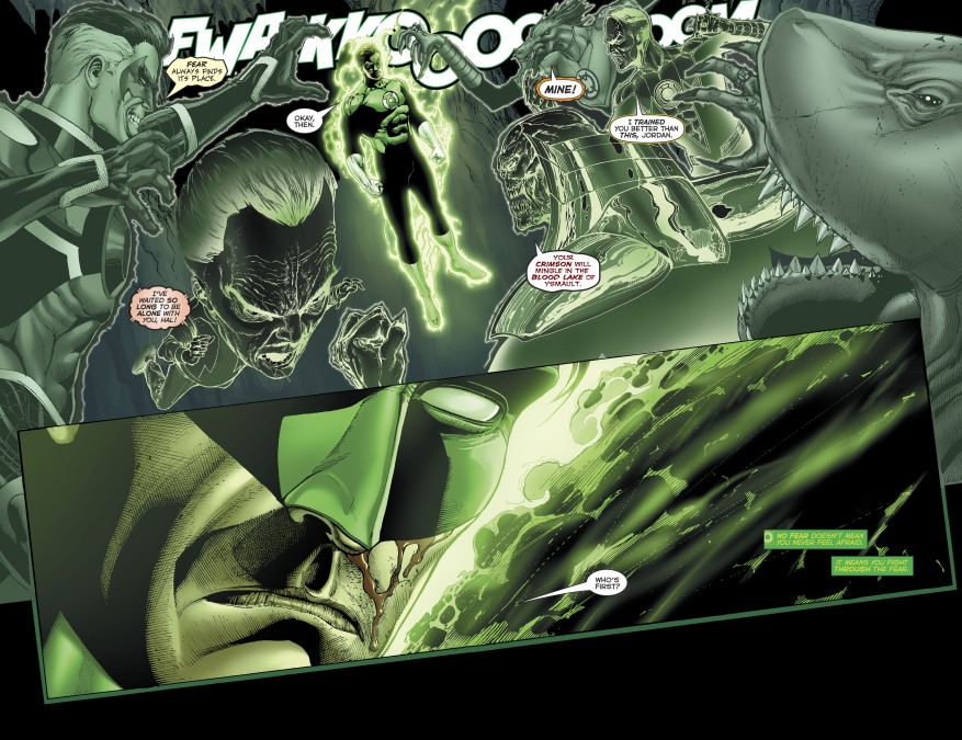 Green Lantern Hal Jordan VS The Dawnbreaker