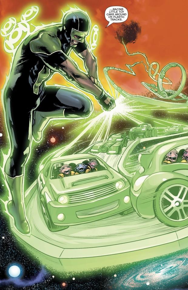 Green Lantern Simon Baz Evacuates An Entire Planet