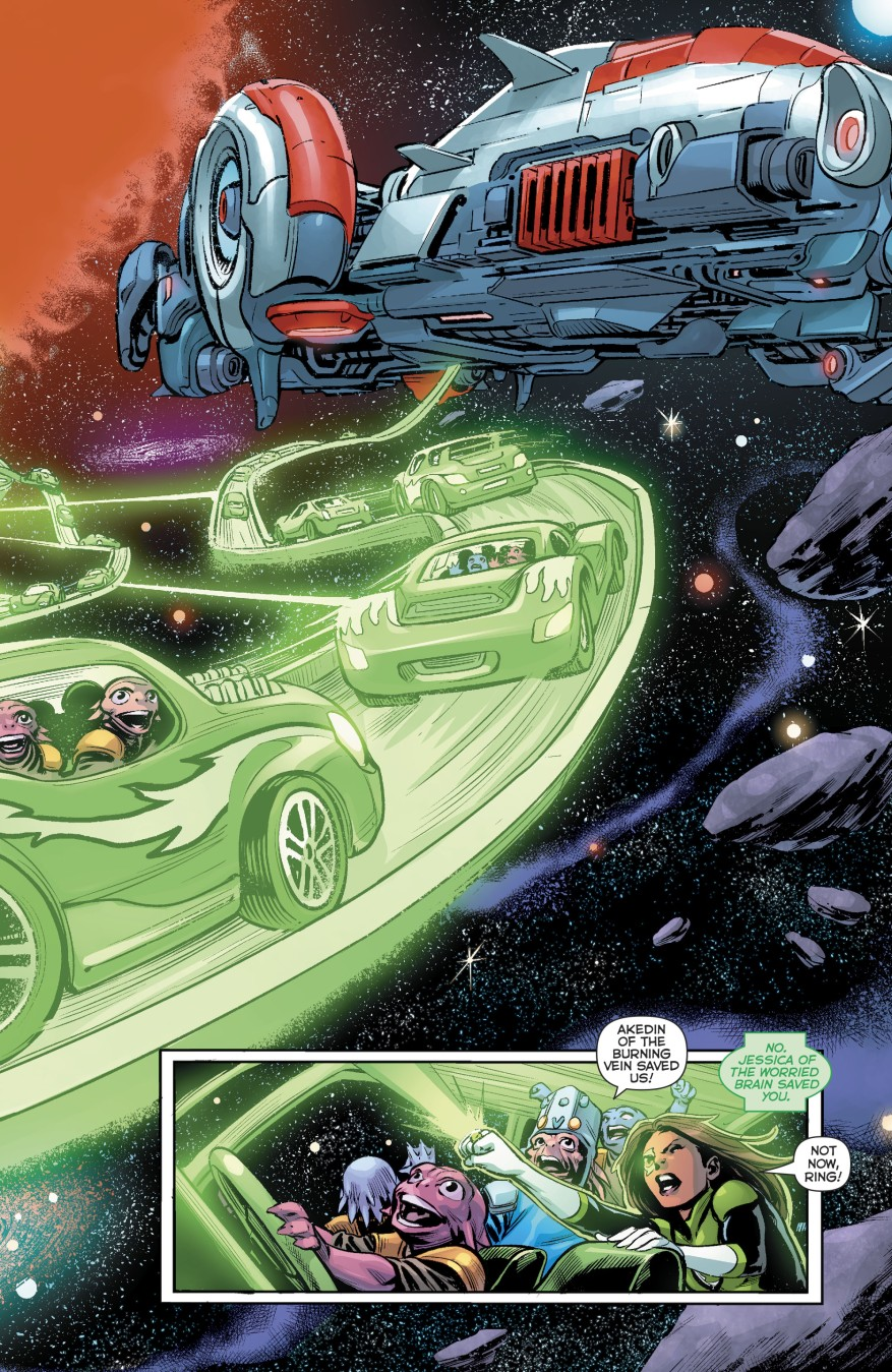 Green Lantern Simon Baz Evacuates An Entire Planet