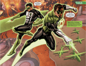 Hal Jordan And Kyle Rayner (Hal Jordan And The Green Lantern Corps #33)